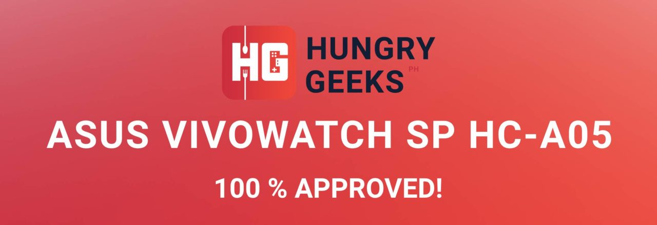 ASUS VivoWatch SP Approved