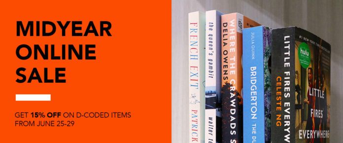 Fully Booked Midyear Online Sale