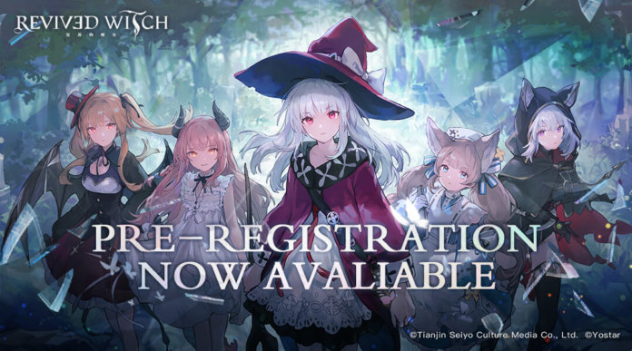 Revived Witch Pre-Registration Cover