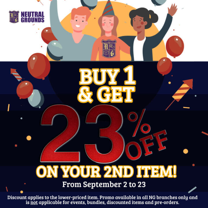 Neutral Grounds Anniversary Sale